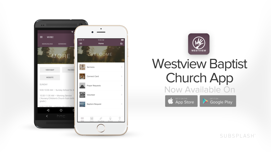 Get the Westview Baptist Church App